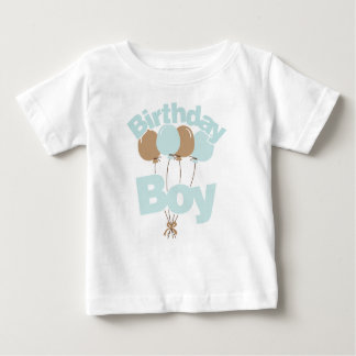 Garçon bleu d'anniversaire t-shirt pour bébé