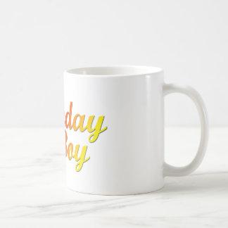 Garçon d anniversaire tasse à café