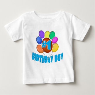 Garçon d'anniversaire t-shirt pour bébé