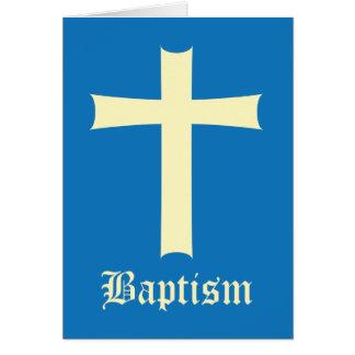 Garçon de baptême cartes de vœux