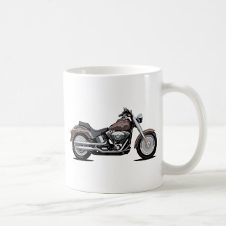 Garçon de graisse de Harley Davidson Mug Blanc