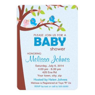 Garçon d'invitation de partie de baby shower carton d'invitation  12,7 cm x 17,78 cm