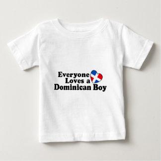 Garçon dominicain t-shirt pour bébé