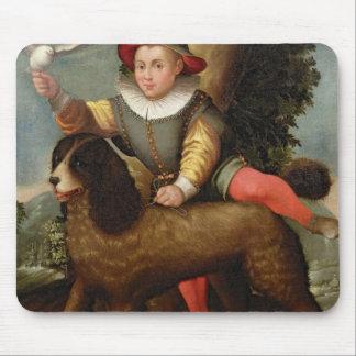 Garçon et chien, ` Bibius Vincit Tapis De Souris
