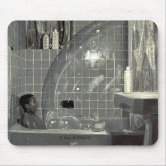Garçon et la bulle 1990 tapis de souris