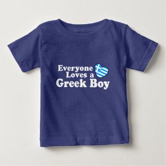 Garçon grec t-shirt pour bébé