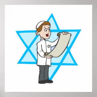 Garçon juif poster