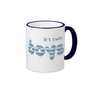 garçons brouillés tasses