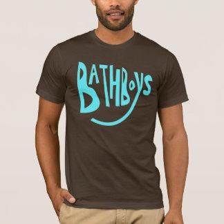 Garçons de Bath bleus T-shirt