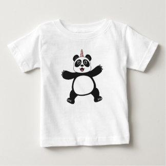 Garçons de bébé de T-shirt de licorne de panda de
