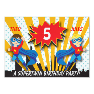 Garçons de l'anniversaire | de super héros de bristols