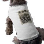 Garçons et filles 1880 hebdomadaire t-shirts pour chien