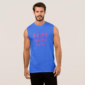 Garçons, garçons, garçons t-shirt sans manches