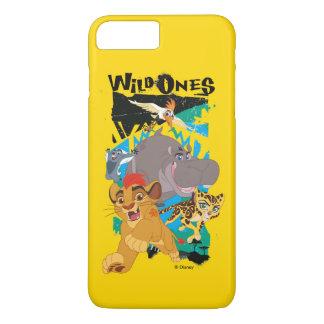 Garde de lion   la sauvage coque iPhone 8 plus/7 plus