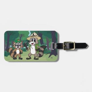 Garde forestière Rick et Ricky de Rick | de garde Étiquettes Bagages