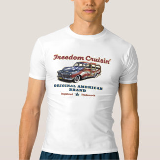 Garde impétueuse americana de Cruisin Woody de T-shirt