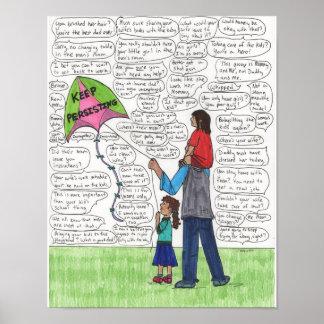 Gardez (des papas) 11x14 de persistance posters