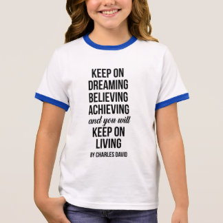 Gardez dessus t-shirt ras-de-cou
