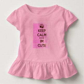 GARDEZ LA CAUSE CALME que je suis MIGNON T-shirt Pour Les Tous Petits