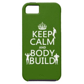 Gardez la construction de calme et de corps coque Case-Mate iPhone 5
