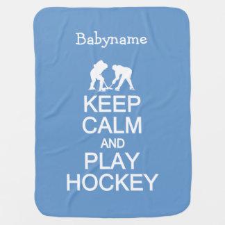 Gardez la couverture faite sur commande de bébé de couverture de bébé