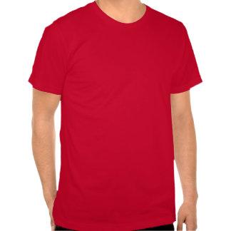 Gardez la pièce en t calme de geek t-shirts