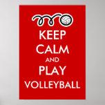 Gardez l'affiche de sports de calme et d'amusement