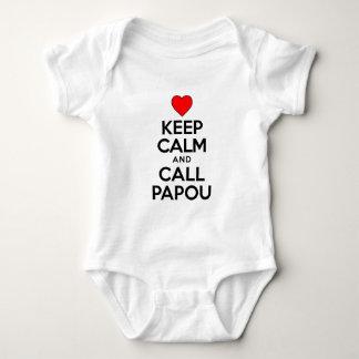 Gardez l'appel calme Papou Body
