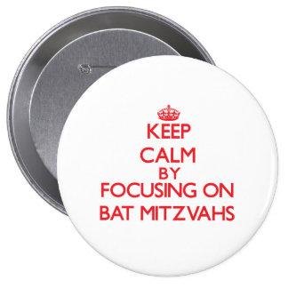 Gardez le calme en se concentrant sur des bat badge