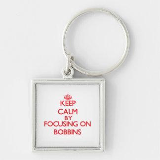 Gardez le calme en se concentrant sur des bobines porte-clefs