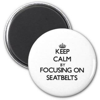 Gardez le calme en se concentrant sur des ceinture