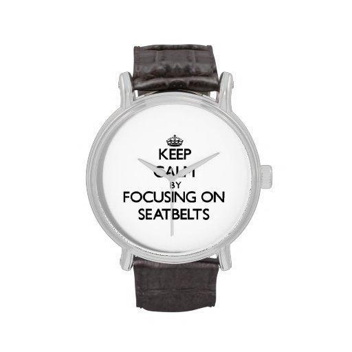 Gardez le calme en se concentrant sur des ceinture montres bracelet