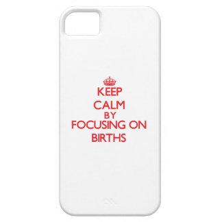 Gardez le calme en se concentrant sur des étuis iPhone 5