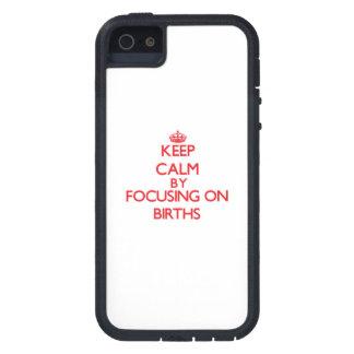 Gardez le calme en se concentrant sur des coques iPhone 5 Case-Mate