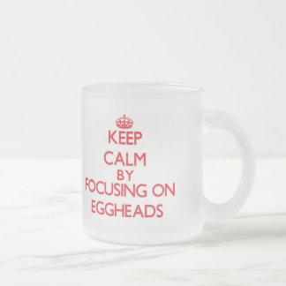 Gardez le calme en se concentrant sur des INTELLOS Tasse À Café