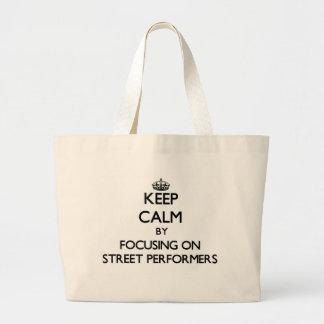 Gardez le calme en se concentrant sur des interprè sac fourre-tout