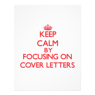 Gardez le calme en se concentrant sur des lettres prospectus
