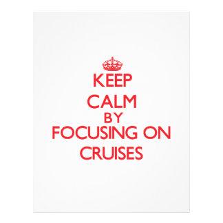 Gardez le calme en se concentrant sur des prospectus personnalisés