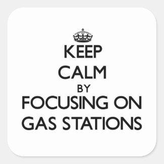 Gardez le calme en se concentrant sur des stations