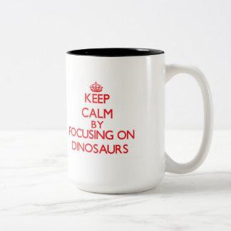 Gardez le calme en se concentrant sur des mug à café