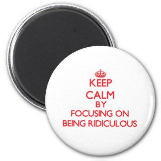Gardez le calme en se concentrant sur être aimants