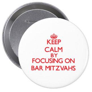 Gardez le calme en se concentrant sur la barre badges