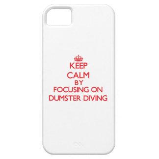 Gardez le calme en se concentrant sur la plongée coques iPhone 5