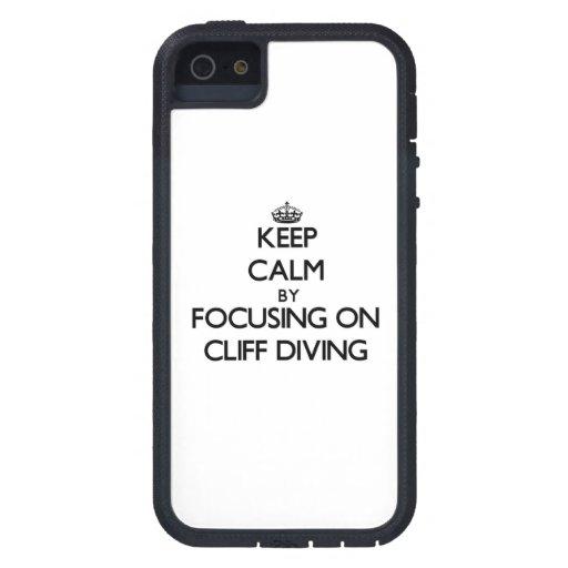 Gardez le calme en se concentrant sur la plongée d étui iPhone 5