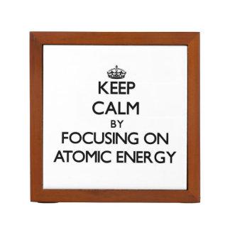 Gardez le calme en se concentrant sur l'énergie
