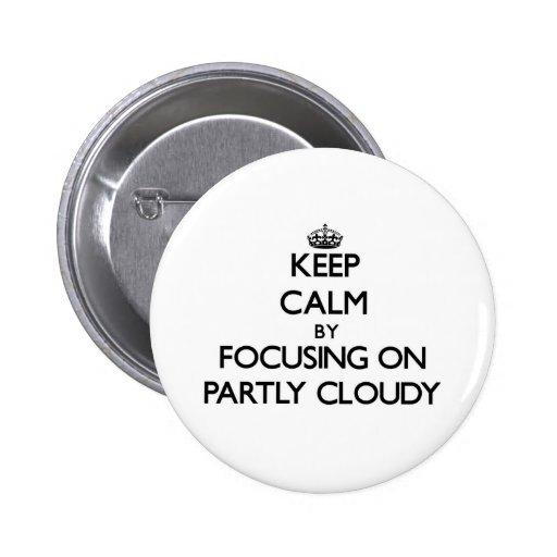 Gardez le calme en se concentrant sur partiellemen badges