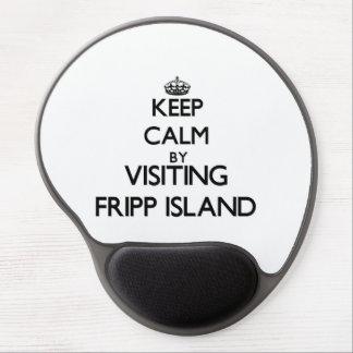 Gardez le calme en visitant l'île la Caroline du S Tapis De Souris Gel