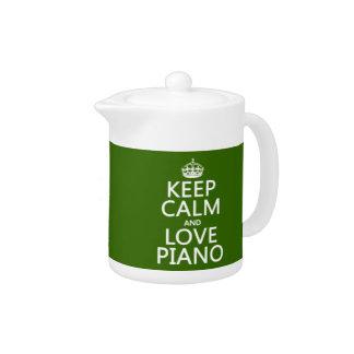 Gardez le calme et aimez le piano (toute couleur