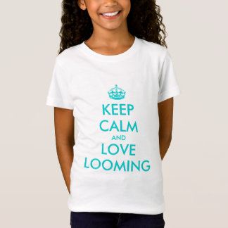 Gardez le calme et aimez le T-shirt de apparence