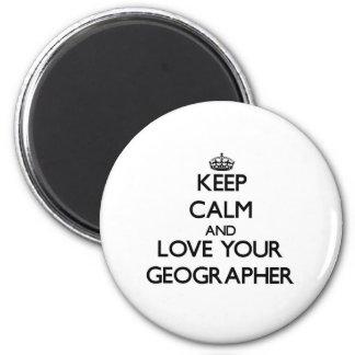 Gardez le calme et aimez votre géographe